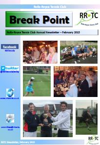 RRTC 2015 Newsletter