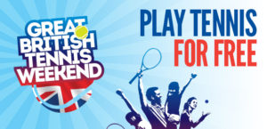 Great British Tennis Weekend – 15th May 2016